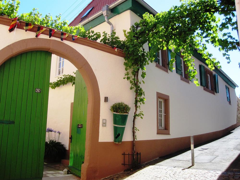 Hof Albert - Eingang